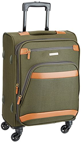 Aristocrat Morris Polyester 57 cms Olive Soft Sided Carry-On (STMRRW57OLV)