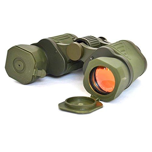 10X50 Russische Militär Fernglas 1000 Nicht-Infrarot High-Power High-Definition Nachtsichtfernglas Mal Fernglas Vogelbeobachtung, Jagd, Reisen, Sight Seeing, Klettern, Outdoor-Teleskop XXPP