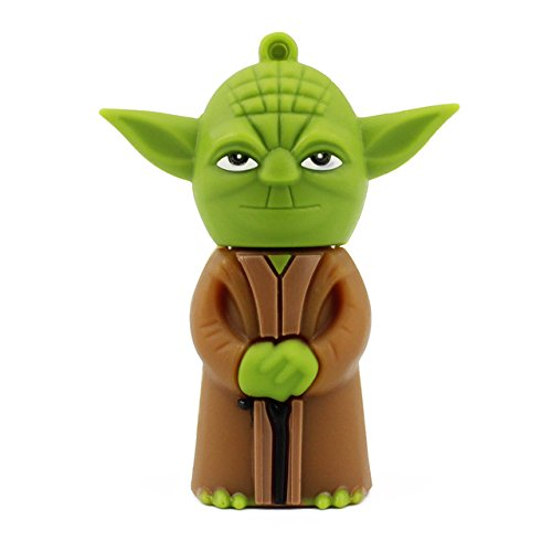 64 GB Star Wars Yoda Mini Electronics USB Flash Drive 2.0 Memory Stick