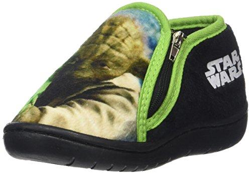Star wars 120885, pantofole bambino, (vert), 26 eu