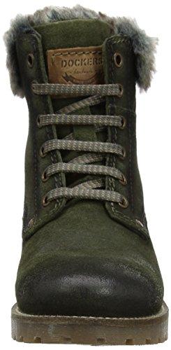 Dockers by Gerli 41hl301-240, Desert Boots Femme Vert (Dunkelgrün)