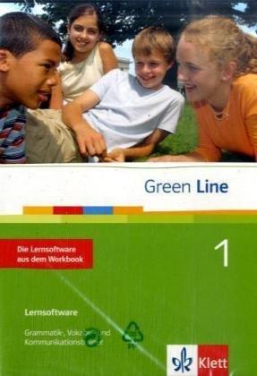 Green Line, Neue Ausgabe für Gymnasien, Bd.1 : Klasse 5, Die Lernsoftware aus dem Workbook, 1 CD-ROM Grammatik-, Vokabel- und Kommunikationstrainer. Einzelplatzlizenz. Windows 98, ME, NT, 2000, XP, Vista