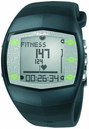 Polar FT40 Men\'s Heart Rate Monitor Watch (Grey)