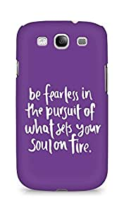 AMEZ be fearless i the pursuit Back Cover For Samsung Galaxy S3 Neo