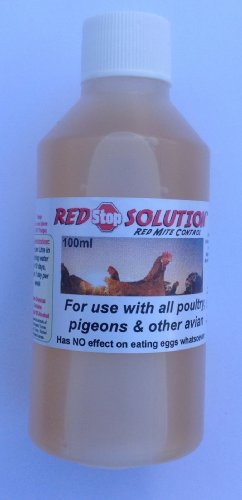 Dragon Poultry 100ml Red Stop Solution Red Mite Control for Chickens Poultry Birds Hatching eggs