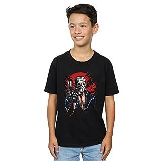 Drewbacca Jungen Jason Will Be Back T-Shirt Schwarz 12-13 Years