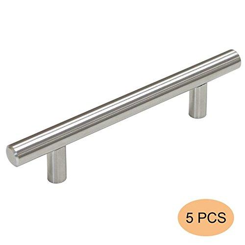 5 X probrico Edelstahl Möbel Schrank Tür Griffe CC 96 mm Küche Schrank Schublade zieht