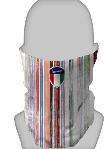 tour-de-cou-cache-nez-argent-vespa-shield-pinceau-au-design-raye
