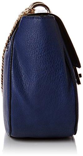 SwankySwans–Hurley serpente Vegan in pelle borsa a tracolla Blue (Navy Blue)
