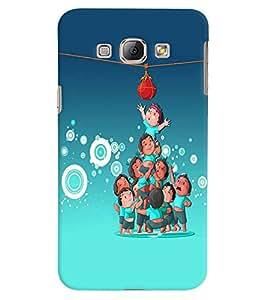 Fuson Premium Matki Phod Printed Hard Plastic Back Case Cover for Samsung Galaxy A8