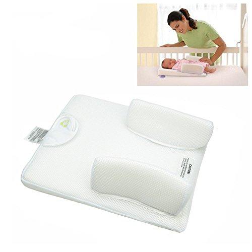 Guoyajf Babywiege Für Bett, Baby Co-Sleeping Krippen & Wiegen Liegekissen mit 100% Ungefärbtem Bio-Baumwollbezug - Perfekt Zum Kuscheln, Faulenzen - Atmungsaktiv & Hypoallergen - Sicherheitsschlaf