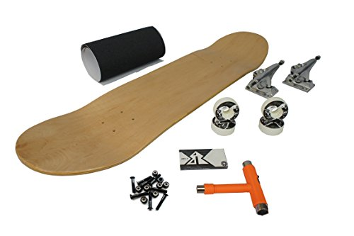 Best Skateboard Blank Plain Maple Deck, Achsen, Rollen, Kugellager, Griptape