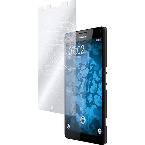 PhoneNatic 2 x Glas-Folie klar für Microsoft Lumia 950 XL Panzerglas für Lumia 950 XL
