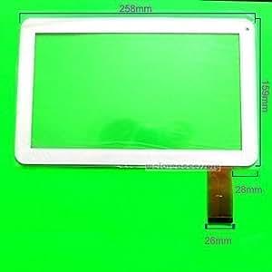 Ecran Tactile Digitizer Remplacement Tablette YTG-P10025-F1 Blanc