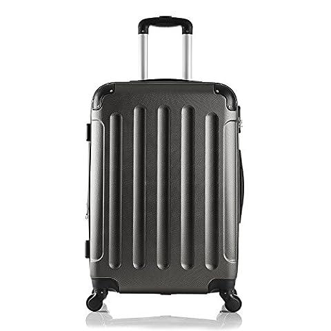 EUGAD Reisekoffer Hartschalenkoffer 4 Rollen mit erweiterbaren Volumen Reise Koffer