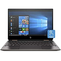 "HP Spectre x360 - Ordenador Portátil Convertible 13.3"" FullHD (Intel Core i7-8565U, 8GB RAM, 256GB SSD, Intel Graphics, Windows 10) Color Plata - Teclado QWERTY Español"