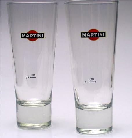 6 MARTINI Longdrink Gläser exclusive Gastro
