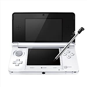 Nintendo 3DS Console – Ice White (Japanese Imported Version – only plays Japanese version games) by Nintendo