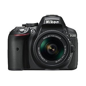 Nikon-D5300-SLR-Digitalkamera-242-Megapixel-81-cm-32-Zoll-LCD-Display-Full-HD-HDMI-WiFi-GPS-AF-System-mit-39-Messfeldern-nur-Gehuse-schwarz