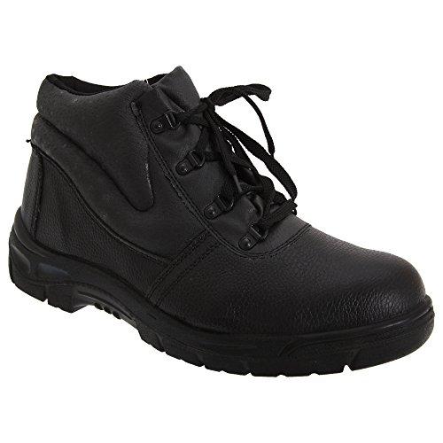 Seguridad Hombre Zapatos Negro De Grafters tqxPHZRwHE