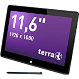 Wortmann AG Terra PAD 1161 Pro 256 GB 3 G 4 G Schwarz – Tablets (Tablet Full-Size, IEEE 802.11 N, Windows, Tablet, Windows 10 Pro, 64-Bit)