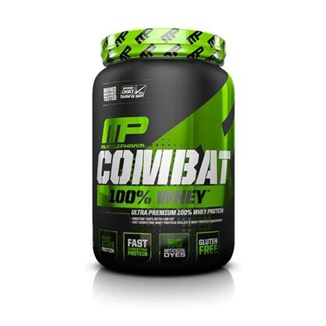 907g Erdbeere (Musclepharm Combat 100% Whey Eiweiß Protein Bodybuilding (907g Strawberry - Erdbeere))