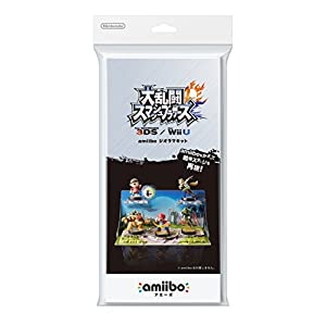 Amiibo Diorama Kit – Super Smash Bros. series Ver. [Wii U][Japanische Importspiele]