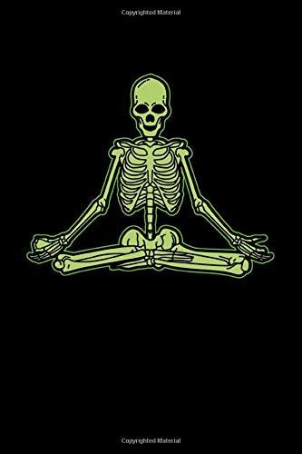 Yoga Lotus Skelet: KALENDER 2020/2021 mit Monatsplaner/Wochenansicht mit Notizen und Aufgaben Feld!  Für Neujahresvorsätze Halloween Horrorfilm, Yoga ... I Geschenk für Spirituelle, Okkulte (Non Halloween Kostüm)