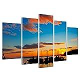 Bild auf Leinwand Canvas–Gerahmt–fertig zum Aufhängen–Tramondo Kanada 170x86cm
