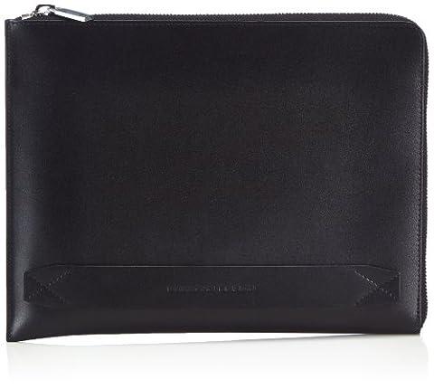 Porsche Design Classic Line iPad Sleeve Z, Organisateur de sac homme - Noir - Schwarz (black 900), 29x22x2 cm (B x H x T) EU