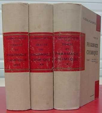 Traité de pharmacie chimique (tome 1 : Chimie minérale et chimie organique, série acyclique).