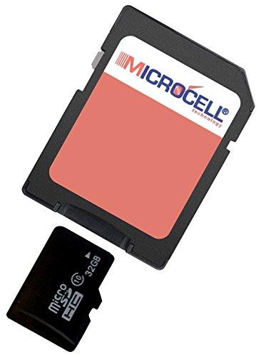 Microcell microSDHC Scheda di Memoria da 32 GB con Adattatore SD per Nokia 3310 2017