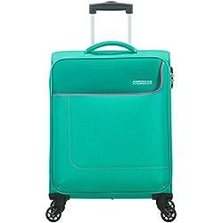American Tourister Funshine Spinner 55/20 Equipaje de Mano, 55 cm, 36 Liters, Verde (Aqua Green)