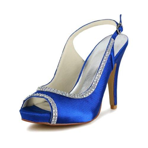 Jia Jia Wedding 85564 Scarpe Sposa Scarpe col tacco donna Blue