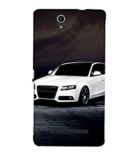 Stylish long Car 3D Hard Polycarbonate Designer Back Case Cover for Sony Xperia C3 Dual :: Sony Xperia C3 Dual D2502