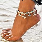TAOtTAO Ankle Chain Frauen Sommer Strand Sandale Barfuß Ketten Fuß Armband Knöchel Kette