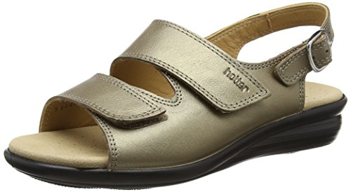 Hotter Damen Easy Sandalen Gold (Pale Bronze)