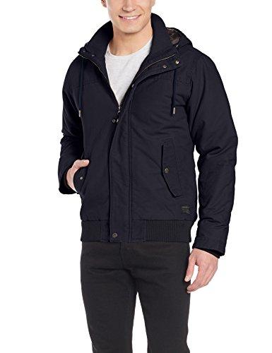 Quiksilver Everyday Brooks Jacke Kapuzenpullover Herren XL Navy Blazer/Solid (Quiksilver-herbst Jacke)
