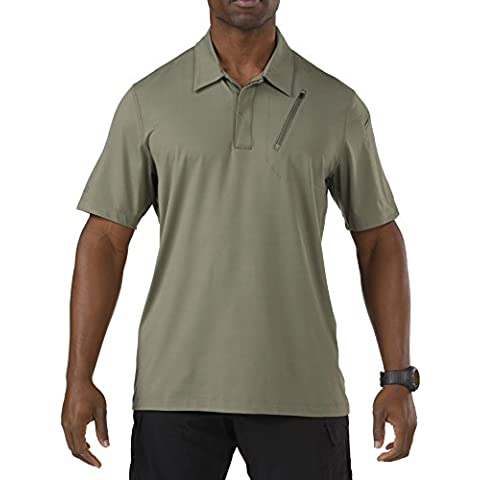 5.11 Hombres Odyssey Polo Manga Corta Sage Verde tamaño L