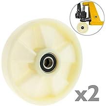 Rueda para transpaleta Rodillo de nailon de 180x50 mm 800 Kg 2-pack de PrimeMatik