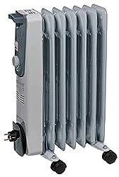 Einhell Ölradiator MR 715/2 (bis 1.500 Watt, 3 Heizstufen, stufenloser Thermostatregler, fahrbar, Kipp- und Überhitzungsschutz, Betriebsanzeige)