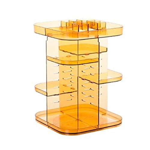 yuguo Kosmetik Rack Kosmetik Display Schrank rotierende Kommode Platz sparenPlatz für Kommoden, Bäder, Schlafzimmer, etc. Seite Lattat 23 x 23 x 32cm