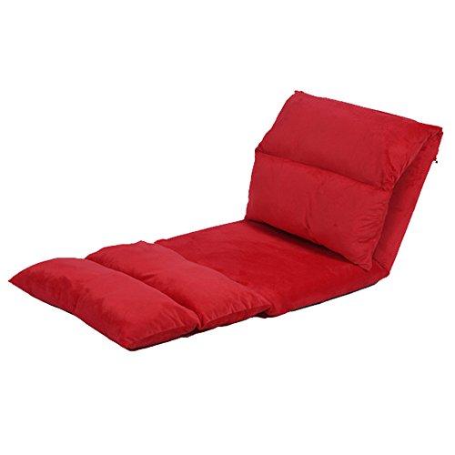 MYS-Sofas C-K-P Lazy Canapé Simple rallongé Pliable Amovible et Lavable pour Les Loisirs, la Natation, Le lit arrière des chaises