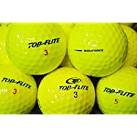LBC di Sport 25Giallo Top Flite Giallo * AAAA/AAA * palline da golf–Lake palle Yellow topflite