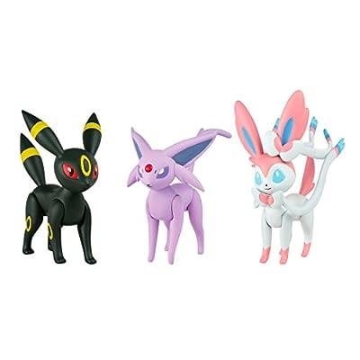 Pokèmon Pack de 3 figuraS por Bizak