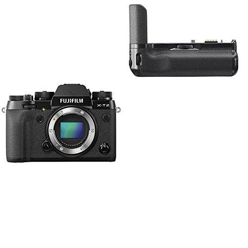 Fujifilm X-T2 - Cámara sin espejo de óptica intercambiable de 24,3 MP...