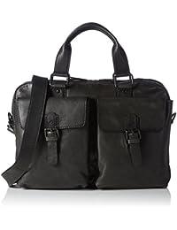 OTTO KERN  Laptoptasche, Sac bandoulière homme - noir - Schwarz (Black), 40x27x9 cm (B x H x T)