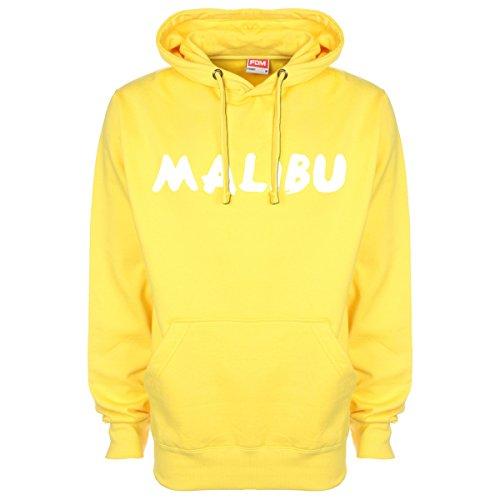 Malibu-Felpa con cappuccio Yellow