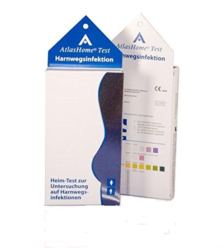 AtlasHome Test Harnwegsinfektion (Schnelltest) - Blasenentzündung