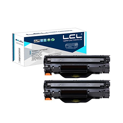 Lcl(tm) 79a cf279a (2-pack nero) cartucce di toner compatibile con hp laserjet pro m12w, hp laserjet pro m12, hp laserjet pro m12a, hp laserjet pro mfp m26nw, hp laserjet pro mfp m26, hp laserjet pro mfp m26a